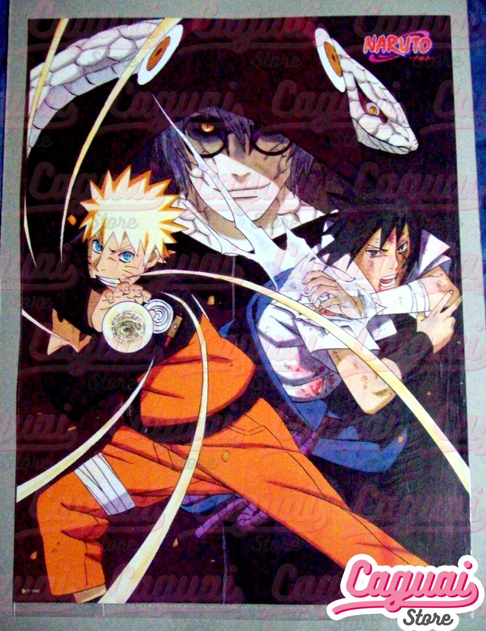Naruto NARUTO—ナルト— Póster Tamaño: 57 x 42cm Stock: 1  Precio: $1.000
