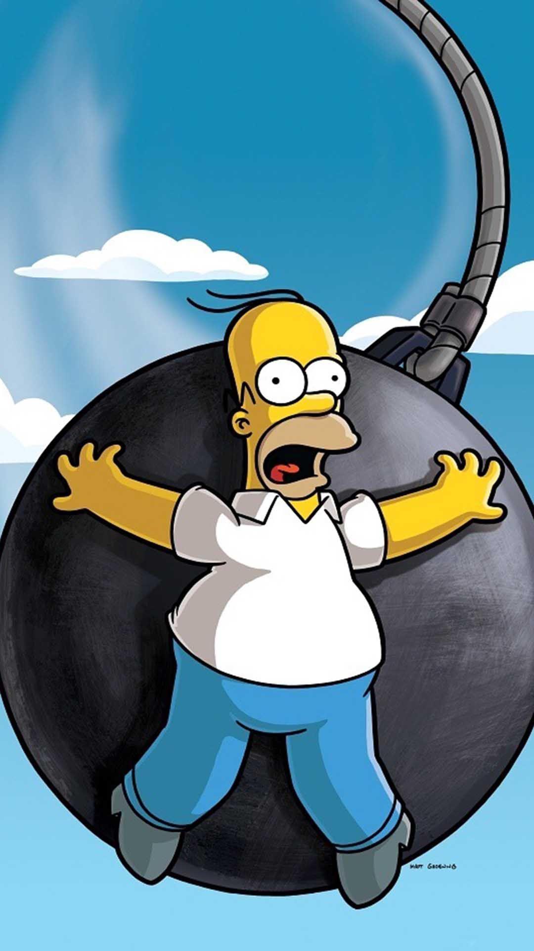 Homer Simpson Iphone Wallpaper Desktop Backgrounds Desktop