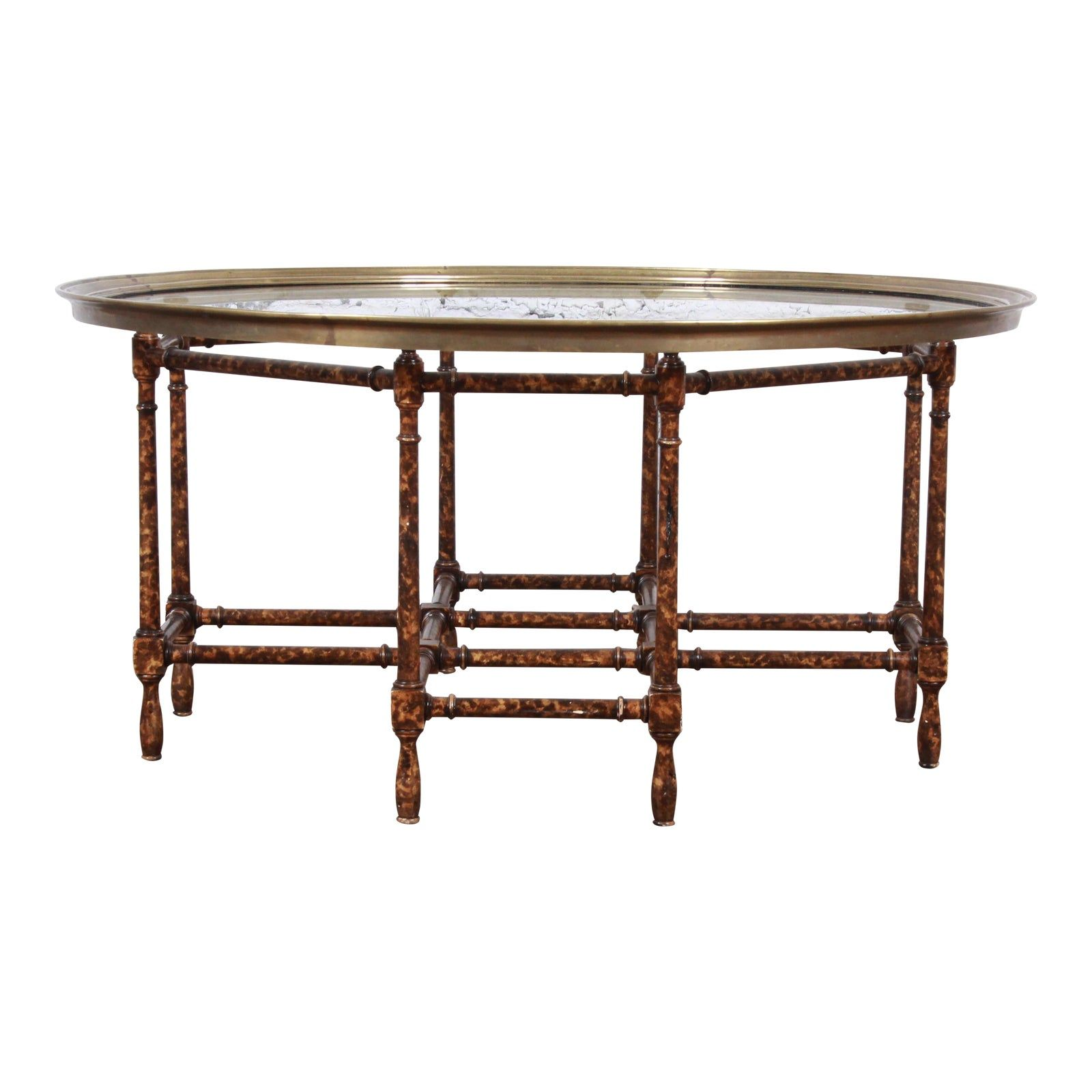Baker Furniture Hollywood Regency Chinoiserie Faux Bamboo Cocktail Table Faux Bamboo Baker Furniture Bamboo Coffee Table [ 1600 x 1600 Pixel ]