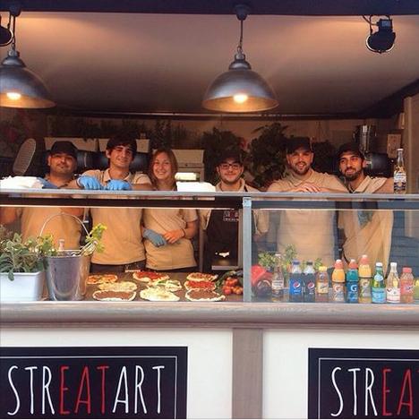 Internazionali Bnl - pizza - streetfood - Roma - Rome - cibo di strada