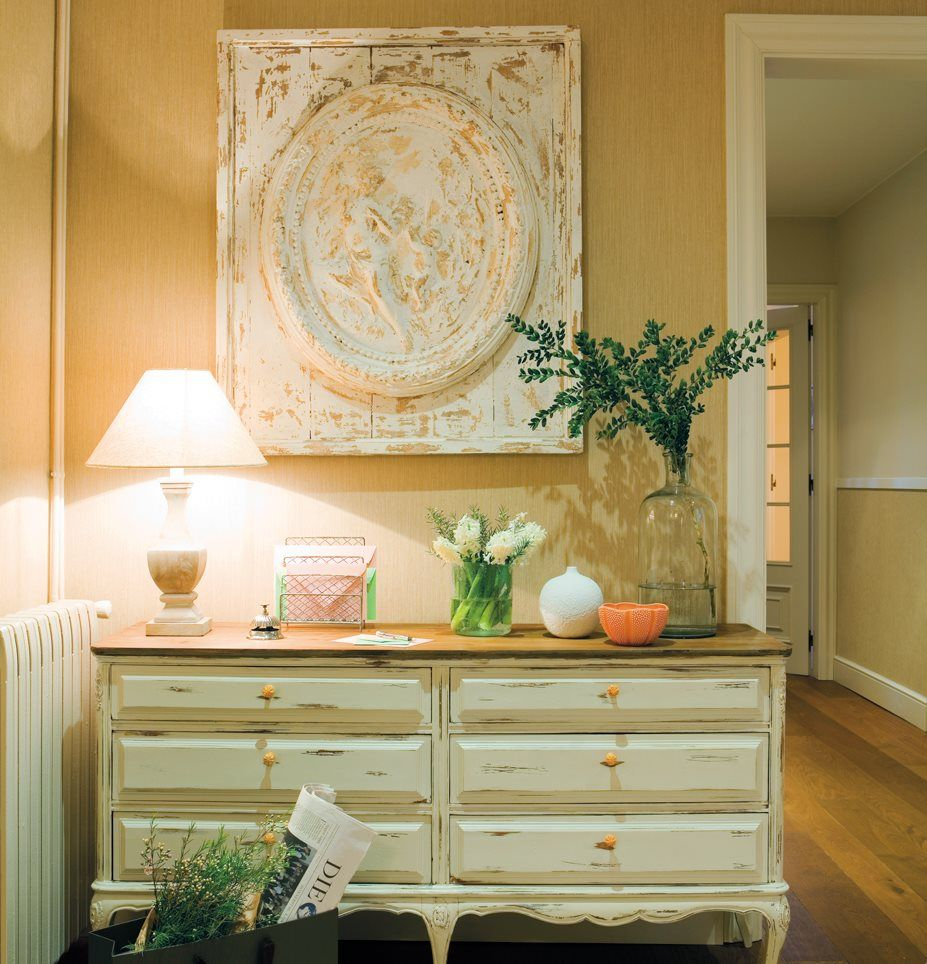 Qu color sienta mejor a tu casa concept pinterest recibidor muebles y decoraci n recibidor - Comoda recibidor ...