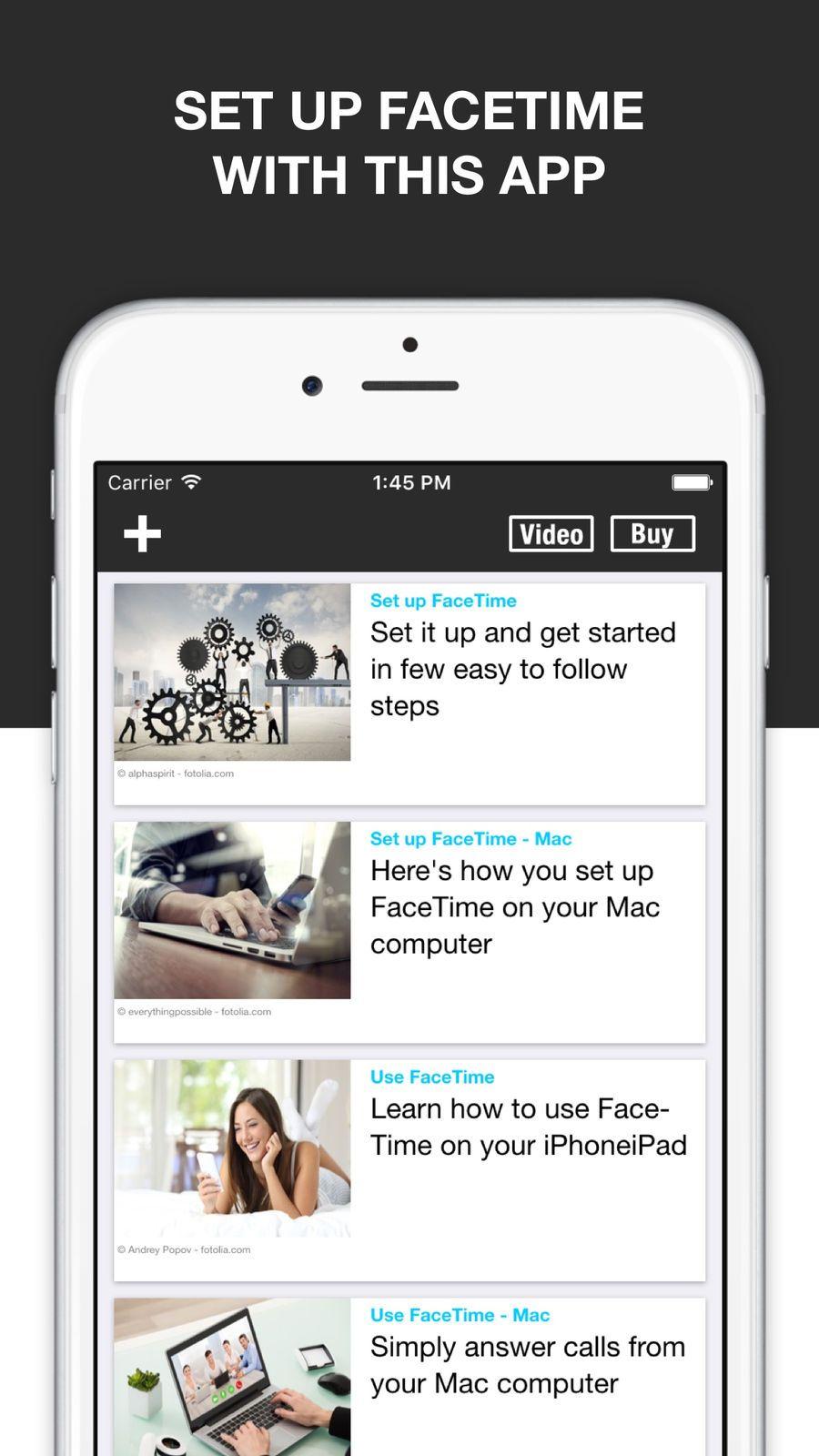 Guide for Facetime Facetime, Mac computer, App