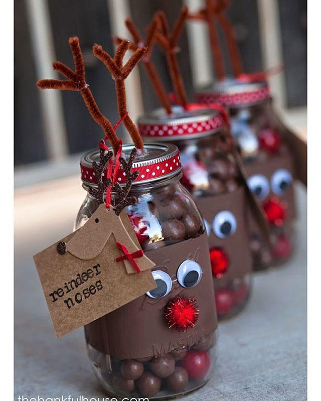ideia muito fofa para o natal pic via pinterest