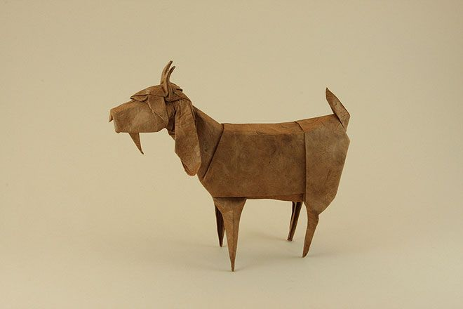 La señorita musgo · animales de origami. origanimals.