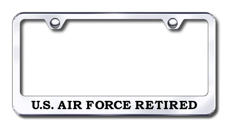 This Air Force License Plate Frame is made in the USA. Put this ...