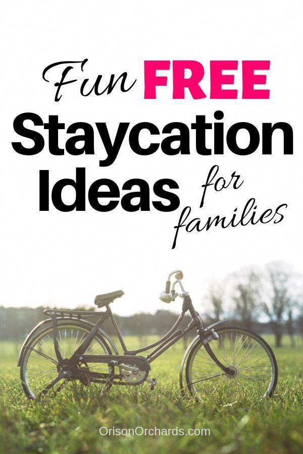 When your budget is tight, but you REALLY need a fun, family vacation, check out these terrific FREE Staycation Ideas! #familyvacation #staycation #budgetvacation #frugal #budget #HappyVacation