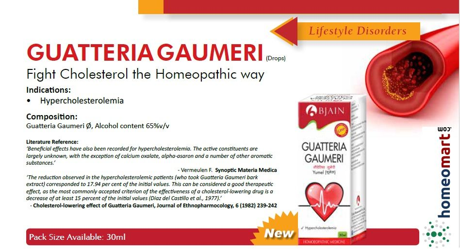 Guatteria Gaumeri (Yumel), Homeopathy medicine for high Cholesterol