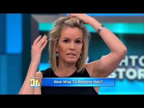 Dr. Dhai Barr does this treatment for men and women at her Lack Oswego office.  503-636-2734  PRP Hair Loss Treatment on The Doctors - YouTube