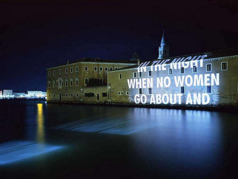 Jenny Holzer, Xenon for Venice, 1999