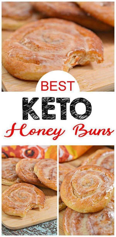 BEST Keto Cinnamon Rolls! Low Carb Ooey Gooey Honey Buns Idea – Quick & Easy Ketogenic Diet Recipe –