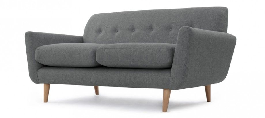 Emilio Two Seat Sofa Slate #Sabichi #Furniture #Showstoppers #Stylish #Modern #Retro #Design