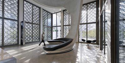 Un m lange d 39 architecture marocaine traditionnelle et de touche moderne voire futuriste le - Bureau moderne casablanca ...