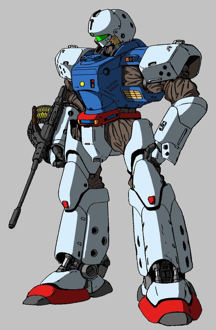 patlabor gundam crossover 5