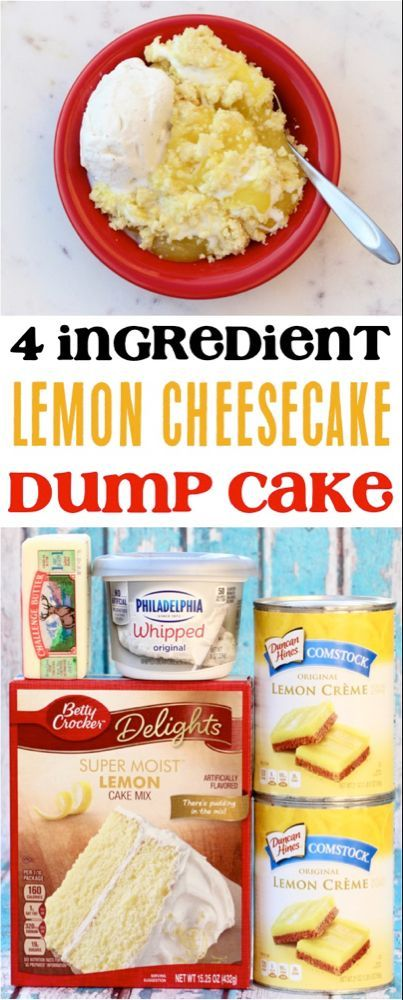 Photo of Einfaches Zitronen-Käsekuchen-Dump-Kuchen-Rezept! (4 Zutaten) – Unendliche Reisen