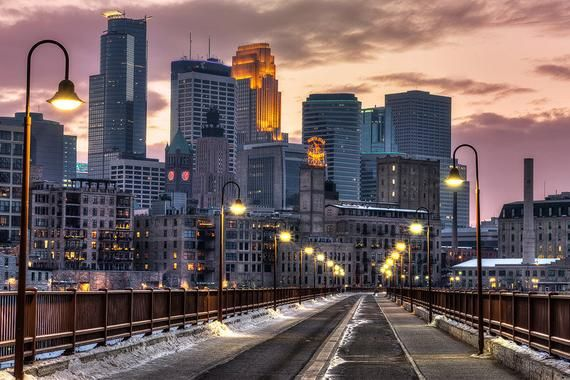 Minneapolis Wall Art Stone Arch Bridge Mill City Wall Art