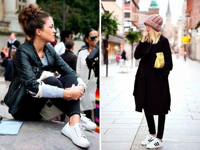 Las zapatillas vuelven a estar de moda, ¡ficha estos looks ultra cómodos!
