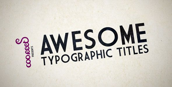 25 Amazing After Effects Kinetic Typography Templates | Typography ...