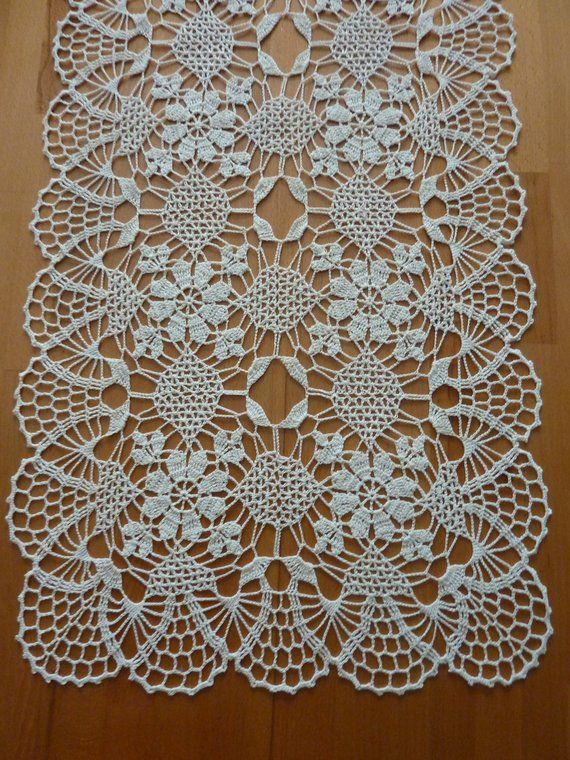 Table runner,set of doilies,table cover
