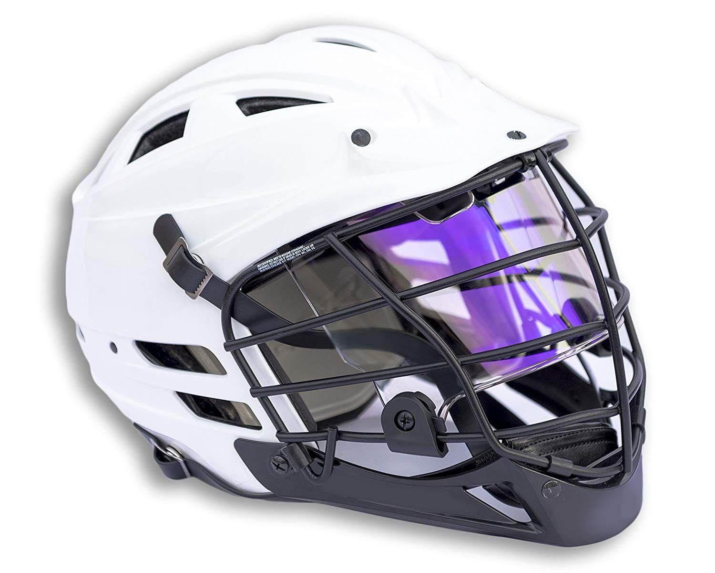 Lax lacrosse visor eye shield 適用於