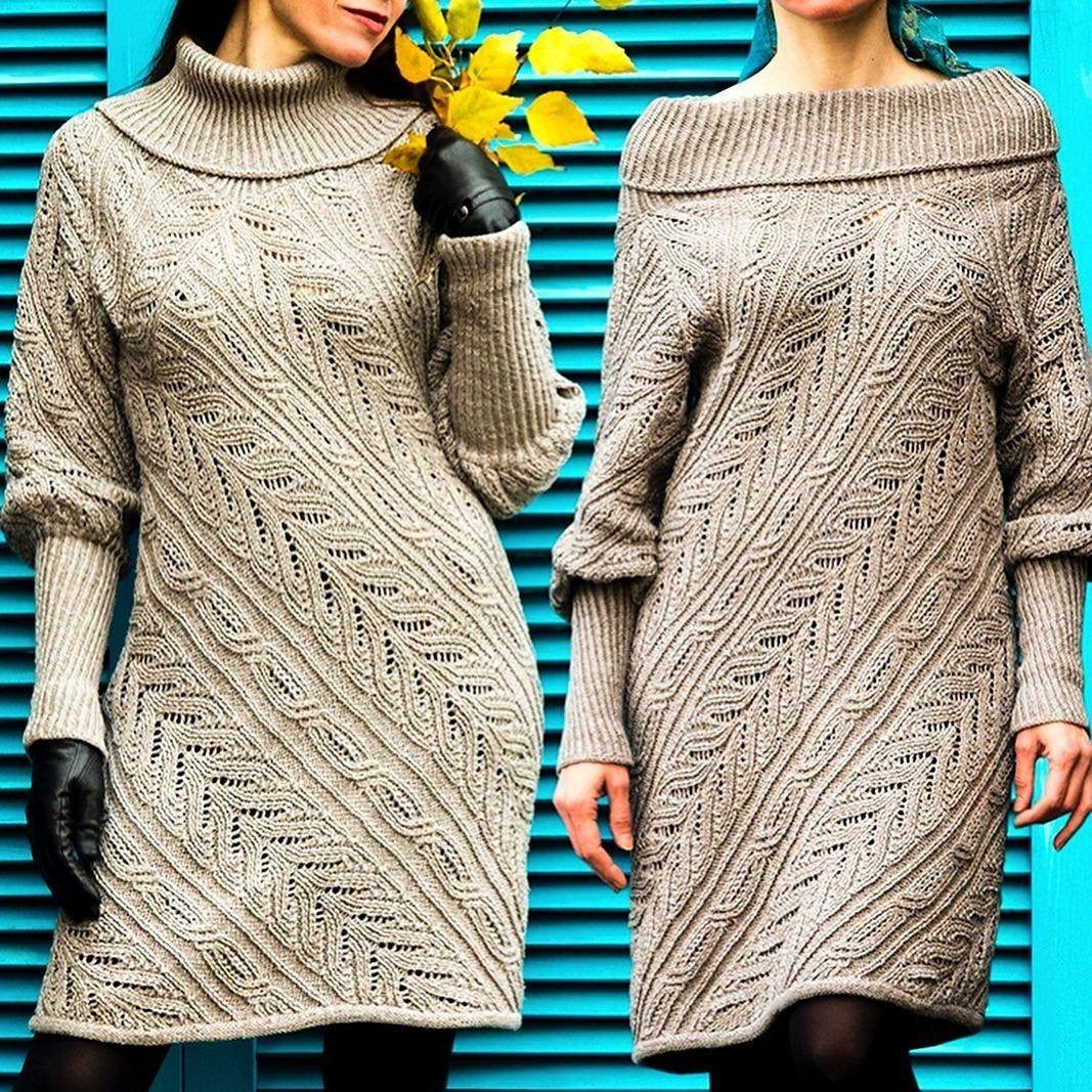 Turtleneck Sweater Dress Pattern Sizes M 4x Knitting Tutorial In English Casual Knitting S In 2021 Sweater Dress Pattern Long Knitted Dress Turtleneck Sweater Dress [ 1067 x 1067 Pixel ]