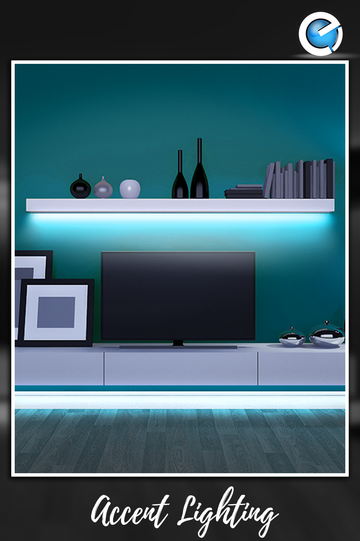 Install A Set Of Led Light Strips Under Your Tv Stand For A Gorgeous Ambiance Keeping A Const Installing Led Strip Lights Strip Lighting Led Strip Lighting