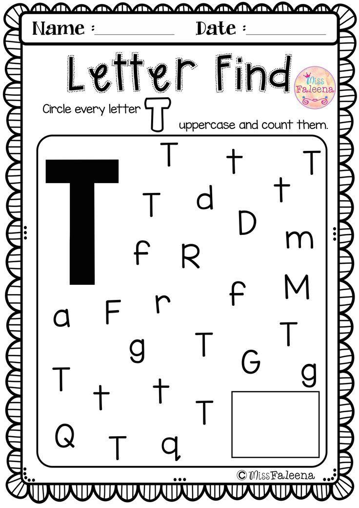 22+ Preschool letter t tracing worksheets ideas