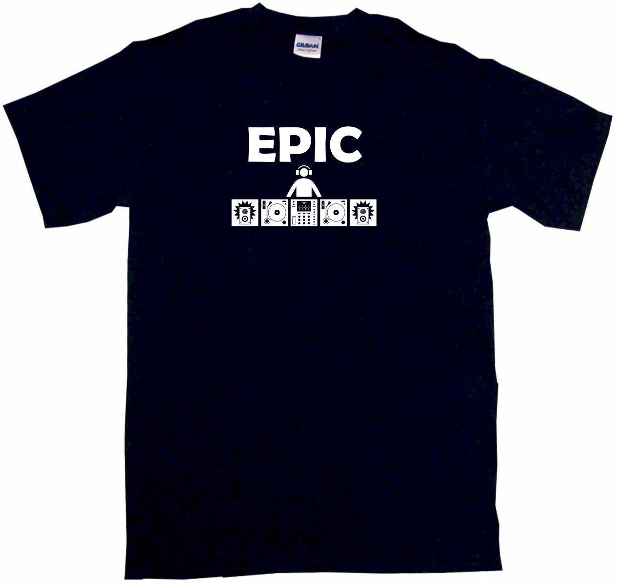 Epic DJ Table Logo Tee Shirt OR Hoodie Sweat