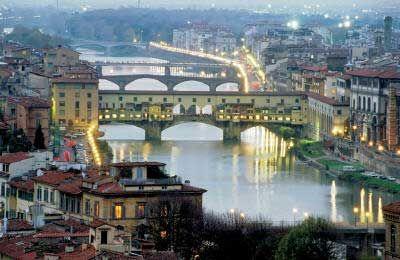 Мосты Флоренции. The Bridges Of Florence