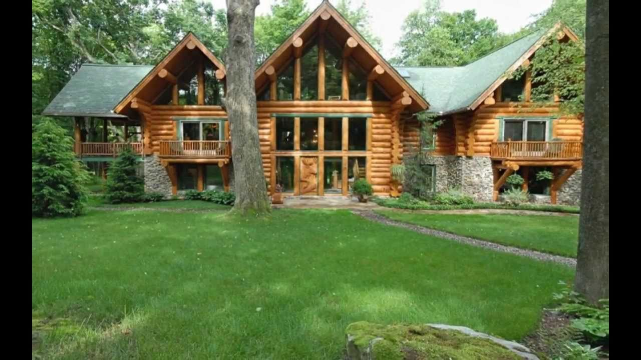 Cool For Sale Beautiful Log Cabin Located In Deer Lake Ohiopyle Download Free Architecture Designs Scobabritishbridgeorg