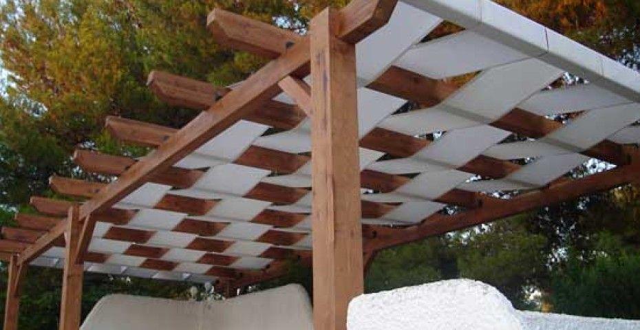 P rgolas con toldo incofusta fabrica de madera en - Tipos de pergolas ...