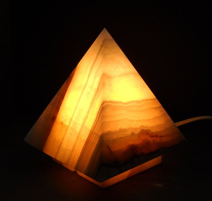 Pyramid Onyx Lamps. DIY make with resin? | DIY Lighting ...