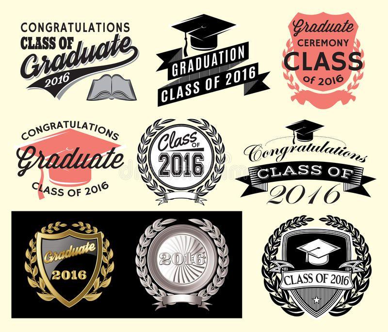 Graduation sector set Class of 2016 Congrats grad