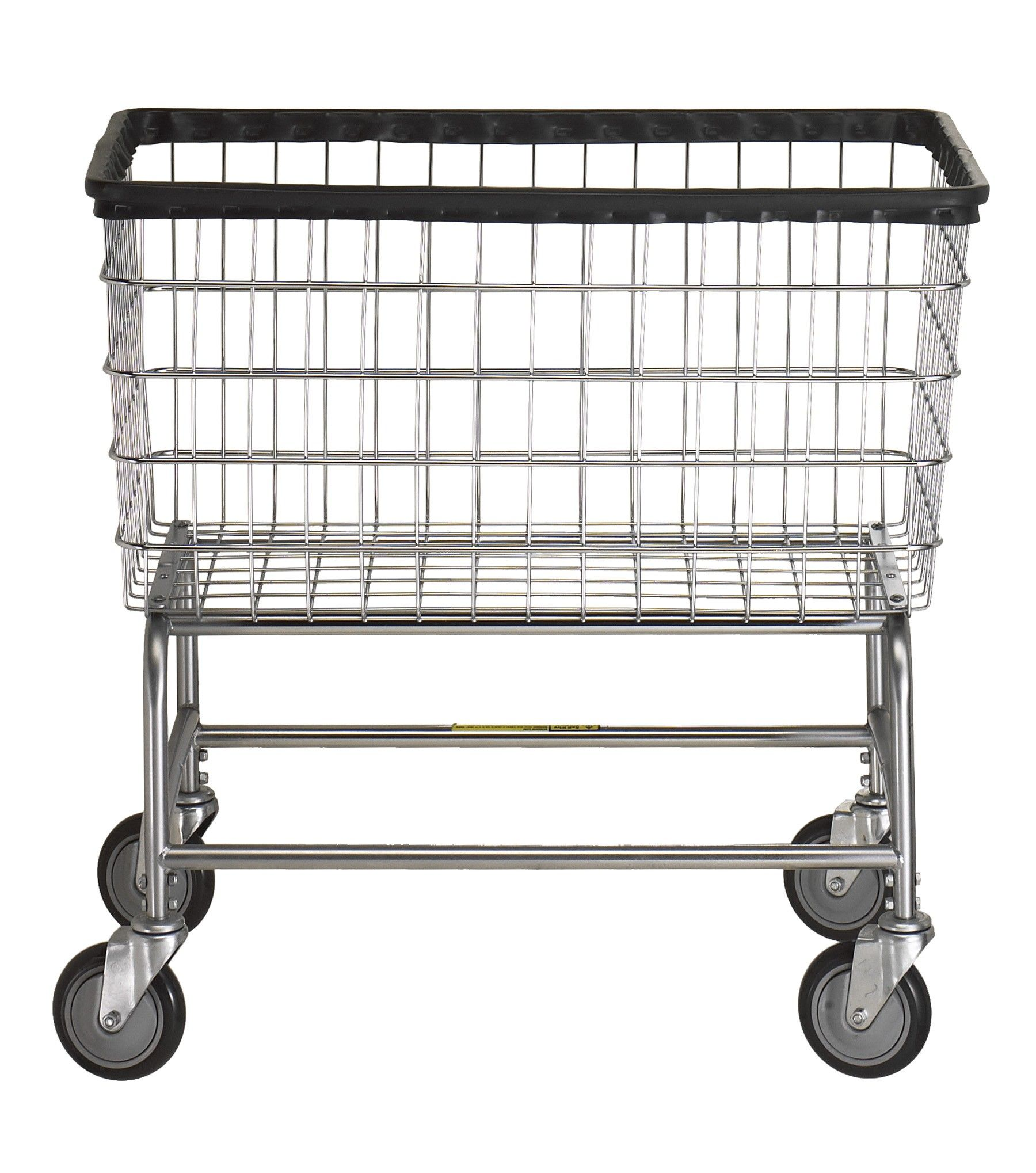 Large Capacity Laundry Cart Laundry Basket On Wheels Metal