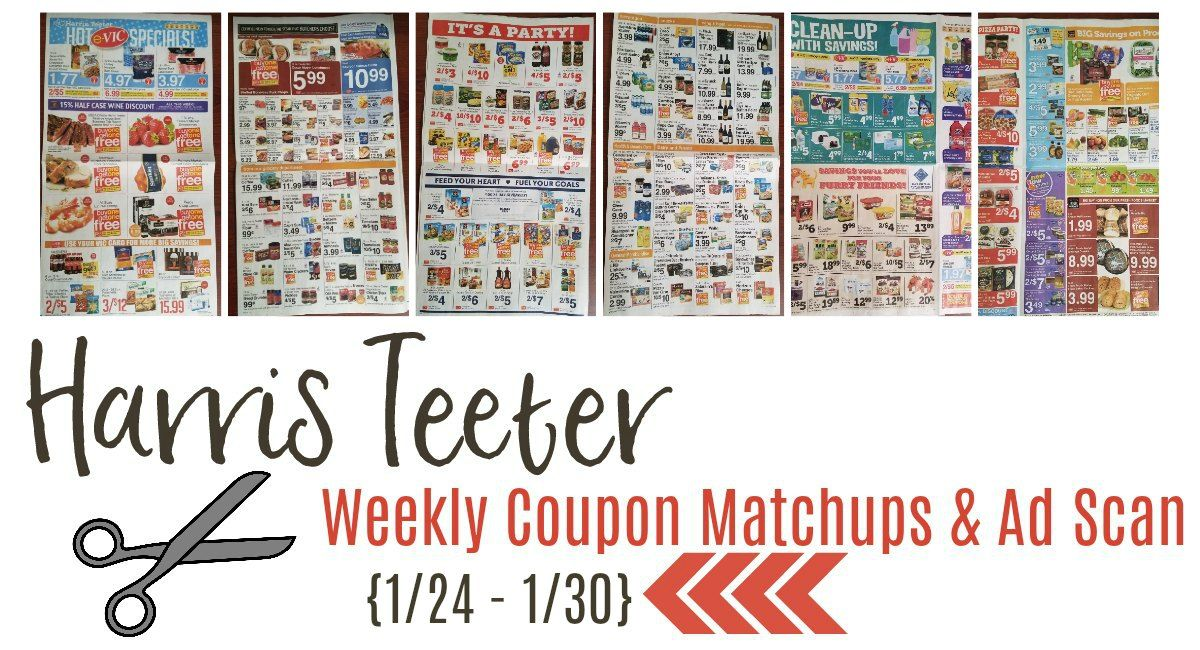 The Harris Teeter Deals Bringing You New Deals At Harris Teeter Everyday Harris Teeter Weekly Coupons Coupon Matchups