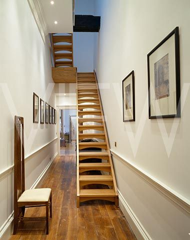 Best Wardour Narrow Staircase Wooden Staircases Chairs Loft 400 x 300