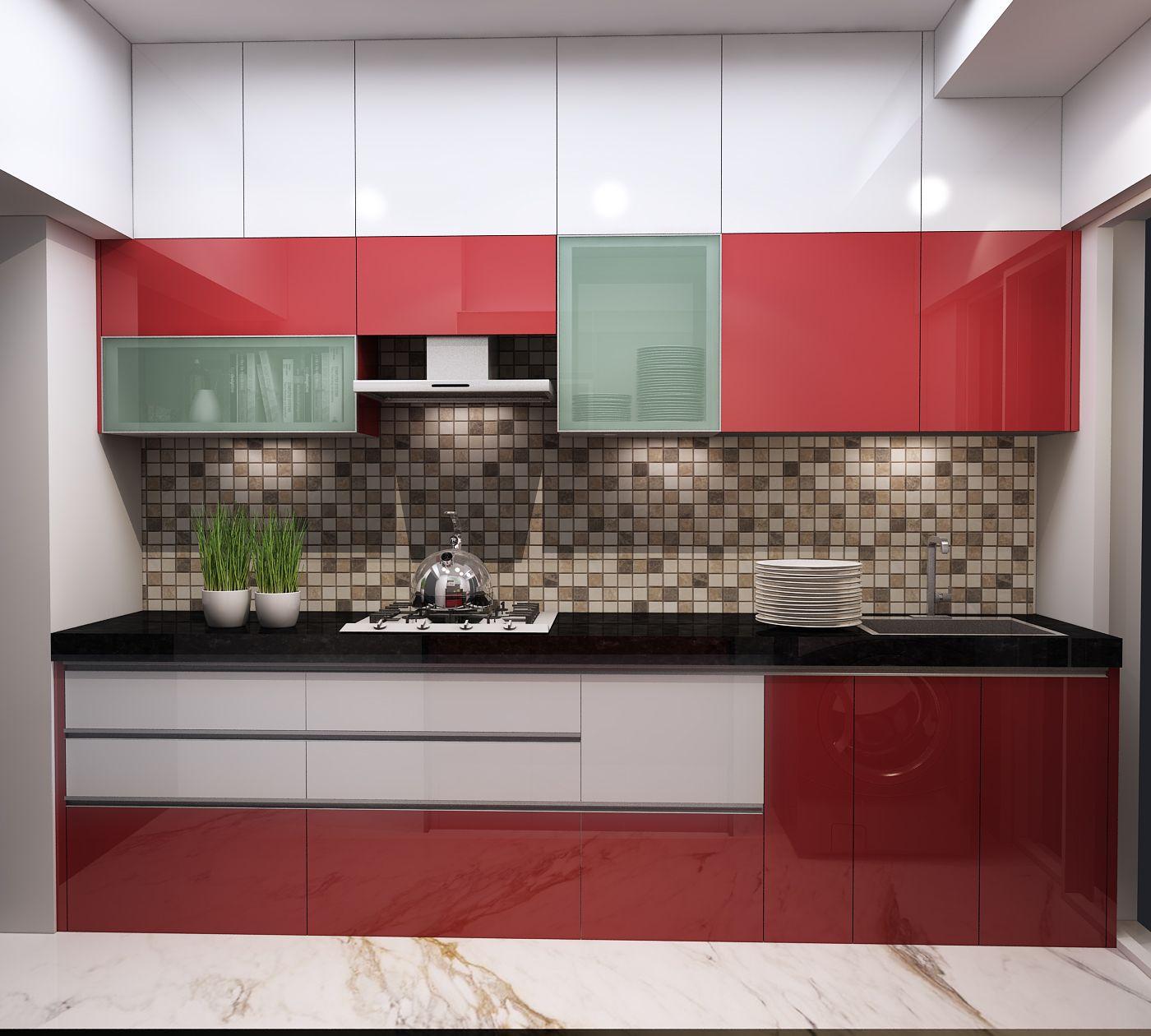 Premium Modular Kitchens Interior Design By Nagesh Katke