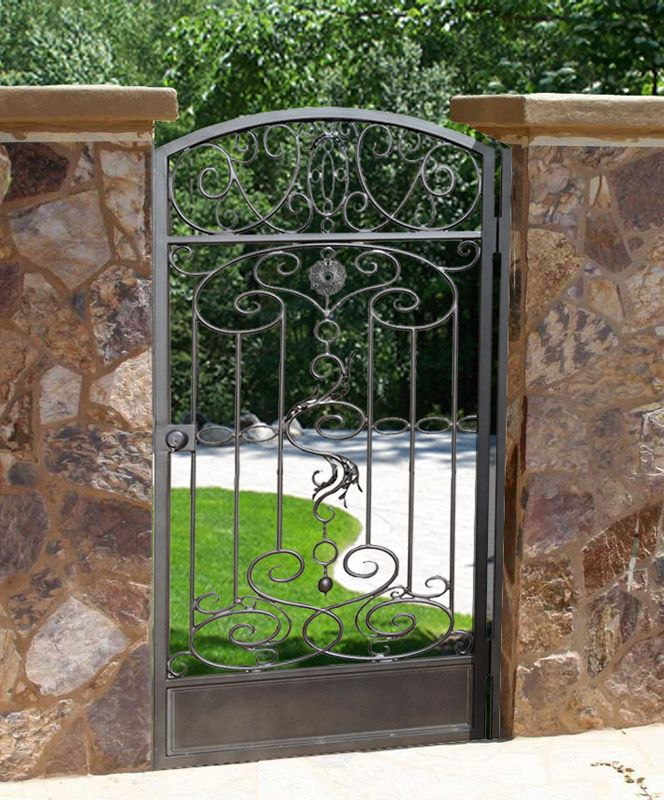 Garden Gates | Fine Art Wrought Iron | Ornamental Iron| Estate Gates