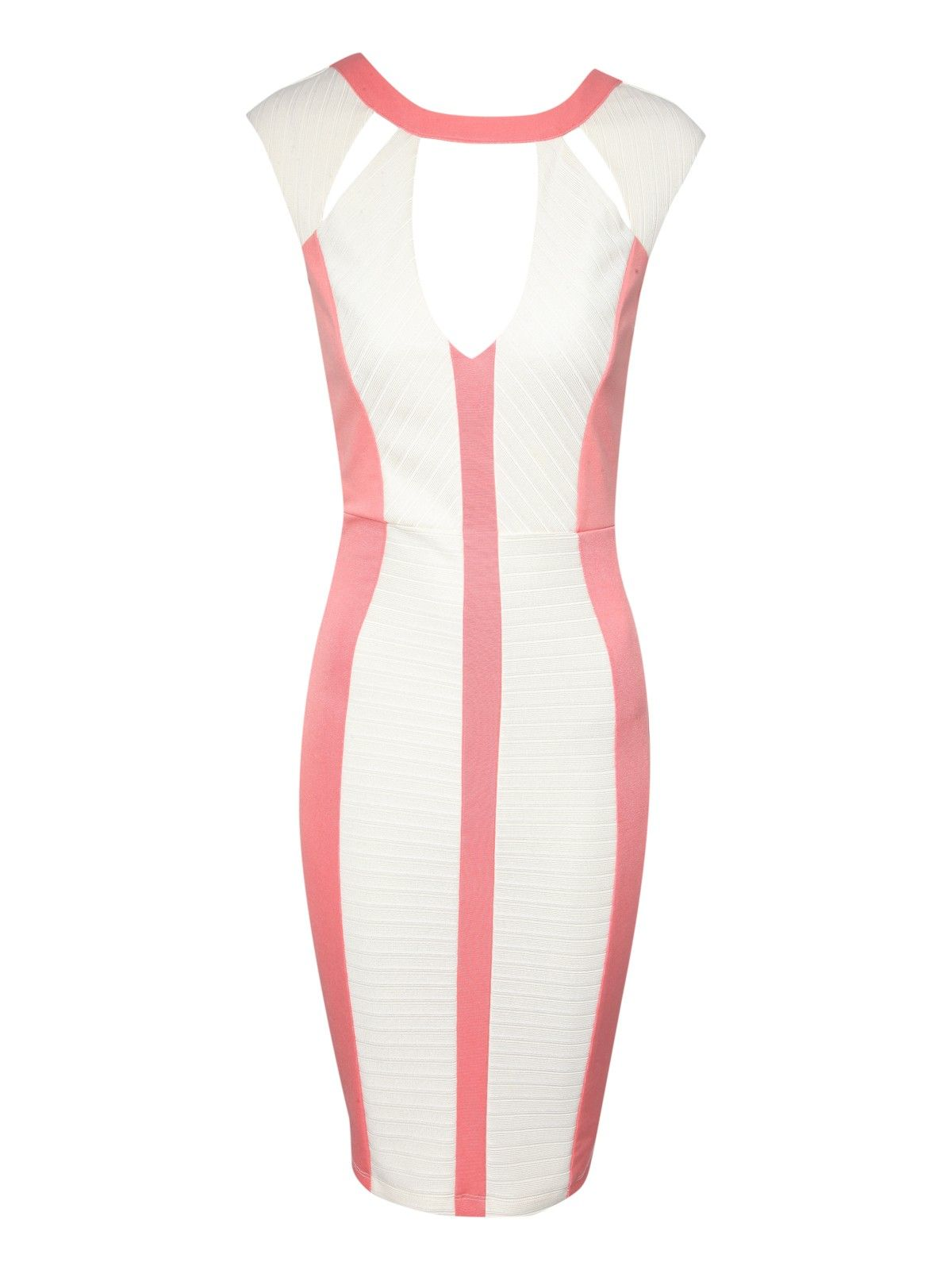 Colour Block Cut Out Dress | Jane Norman | Things to Wear | Pinterest