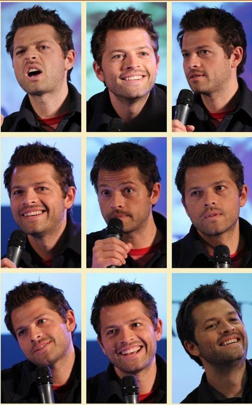 The many beautiful faces of Misha.