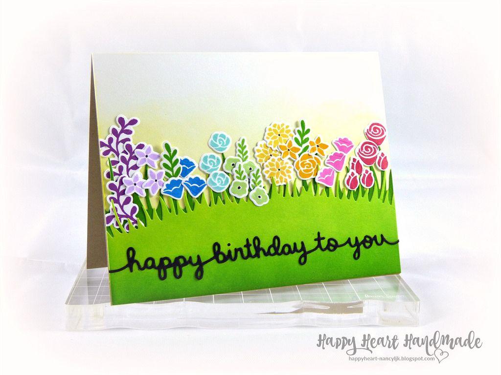 Rainbow floral birthday card lawn fawn lawn and happy birthday httpsflicpjjjeer rainbow floral birthday card penelopes blossoms happy birthday border meadow border lawn fawn ink juice box fresh izmirmasajfo