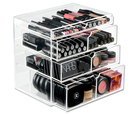 vanity makeup organizer ideas. Best Ideas For Makeup Tutorials  Original Beauty Box Organizers Clear Organizer See What You Have Great For Over Counter