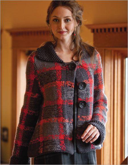 Breacan Swing Coat Knitting Pattern Download | Ladies ...