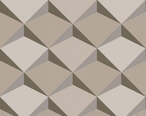 vliestapete 96031 2 move your wall 3d muster beige - Vliestapete Muster