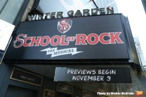The Winter Garden Theatre Box Office Now Open For School Of Rock The