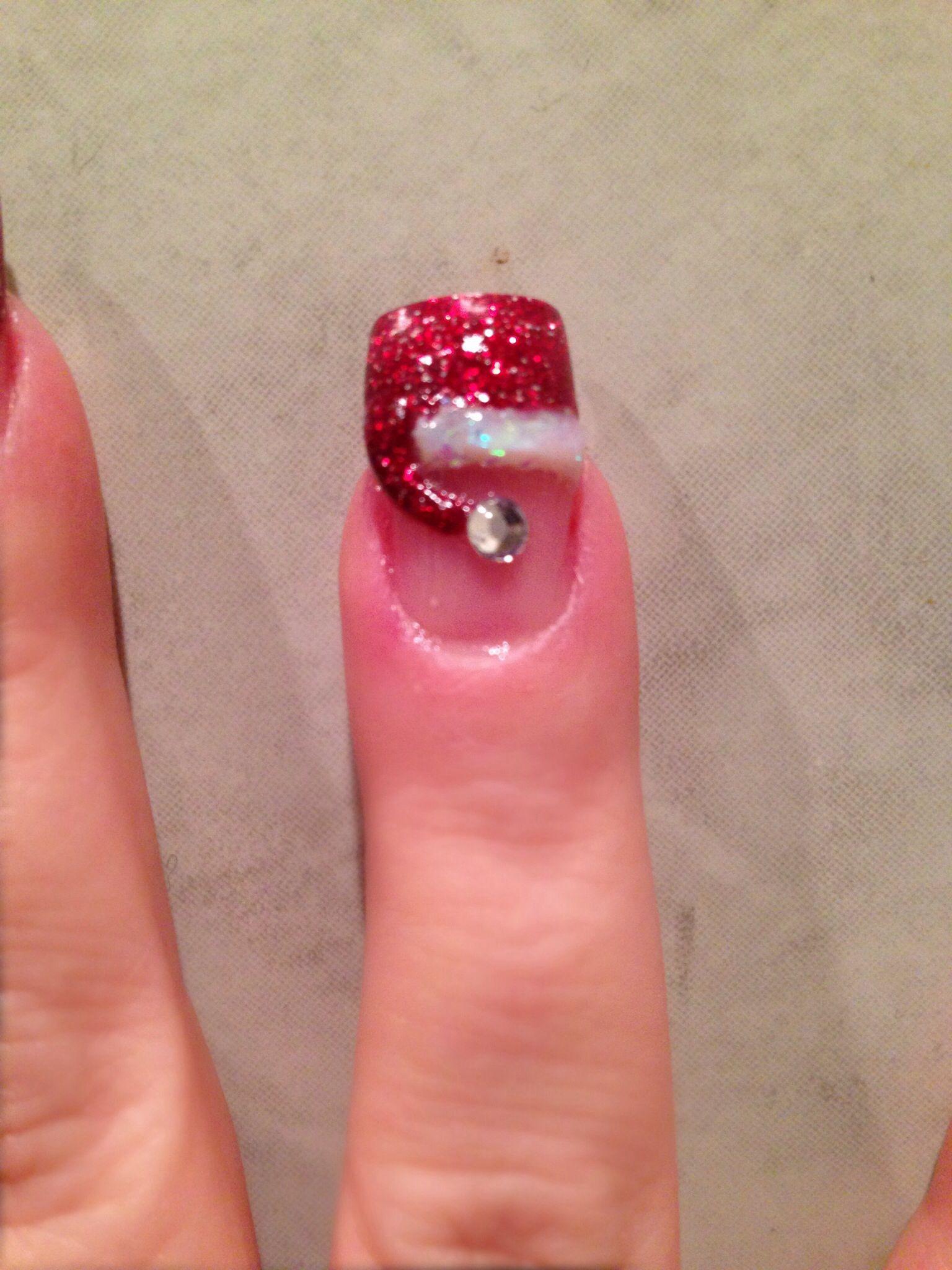 Pin By Lisa Decola On Nail Art Holiday Nails Diy Glamour Nails Xmas Nails