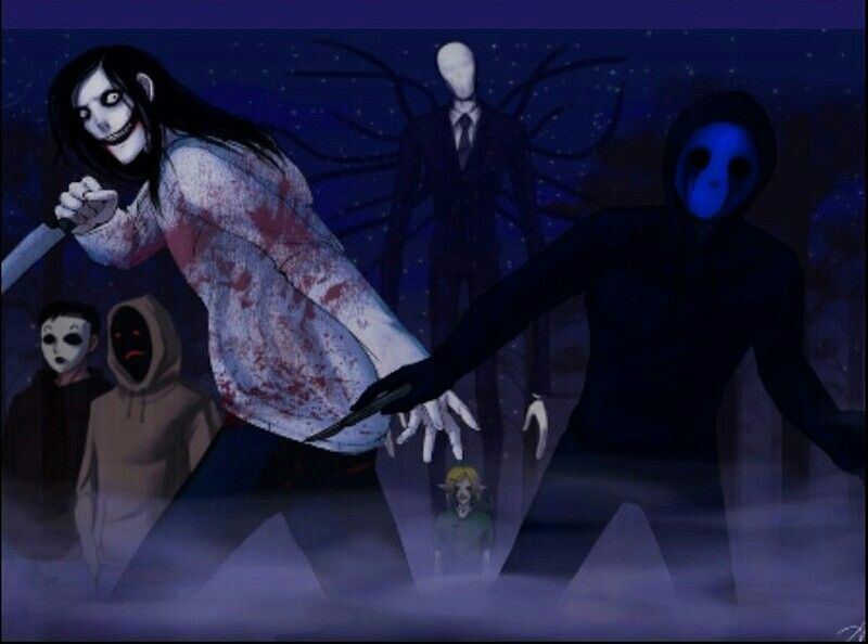 Masky Hoodie Jeff The Killer Slenderman And Eyeless Jack