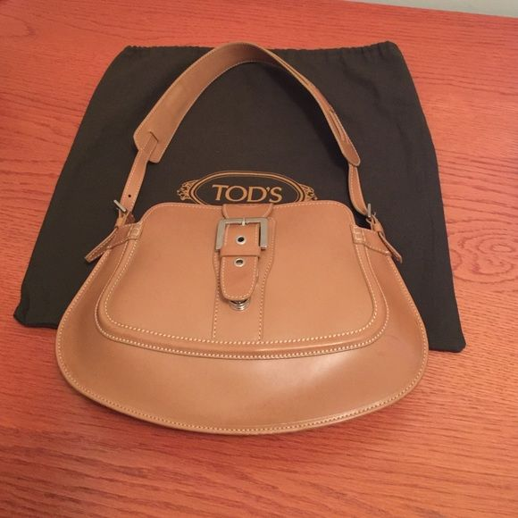 86831d76c0 Tod's handbag Great tan Tod's leather satchel with buckle. 100 % authentic. Tod's  Bags Satchels
