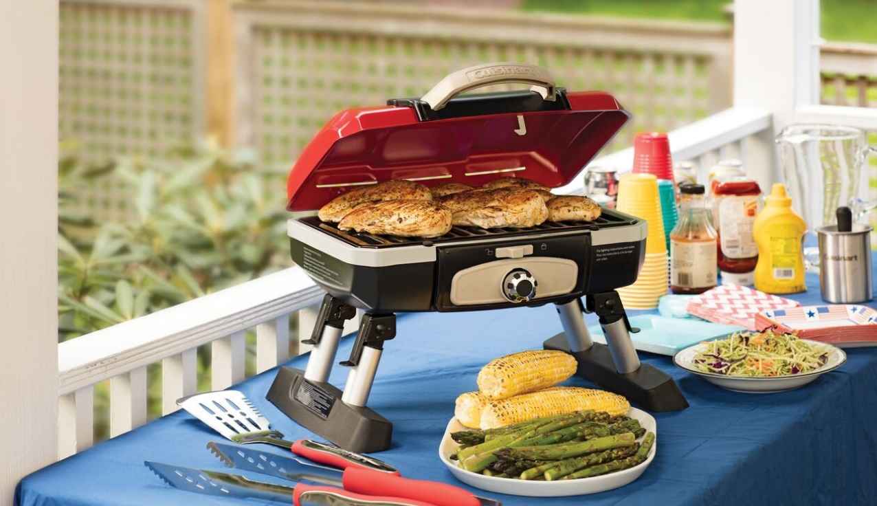 The Best Micro Grills For Your Tiny Space Best Portable Grill Gas Grill Small Grill