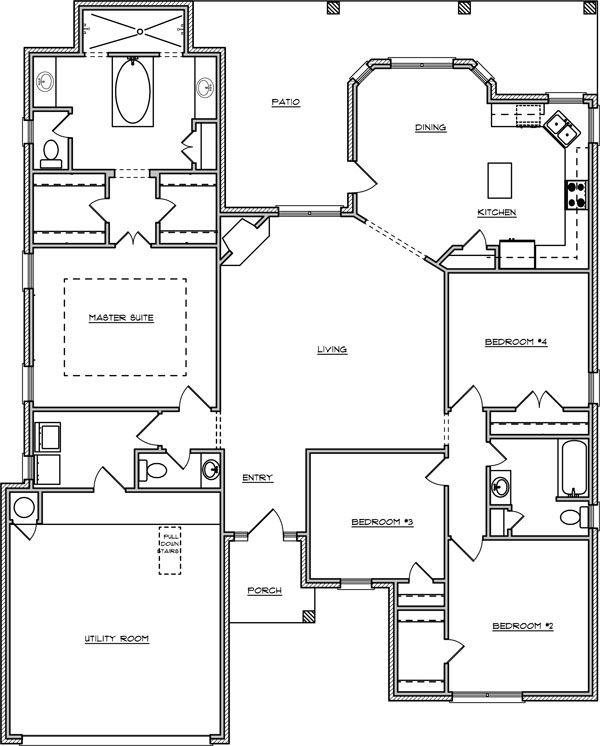 The Ritz-Square Feet: 2120- Bedrooms: 4