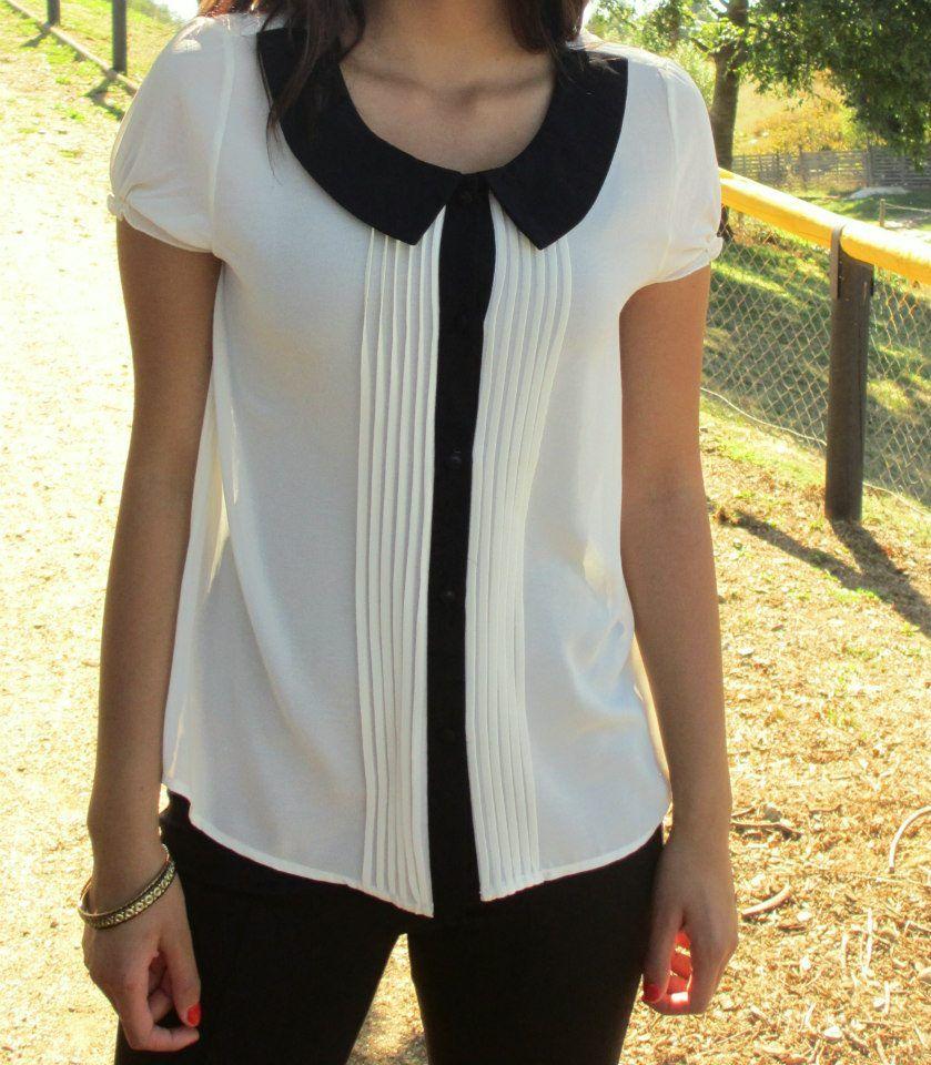 Una tendencia que no se puede perder: 15 hermosas y seductoras blusas blancas